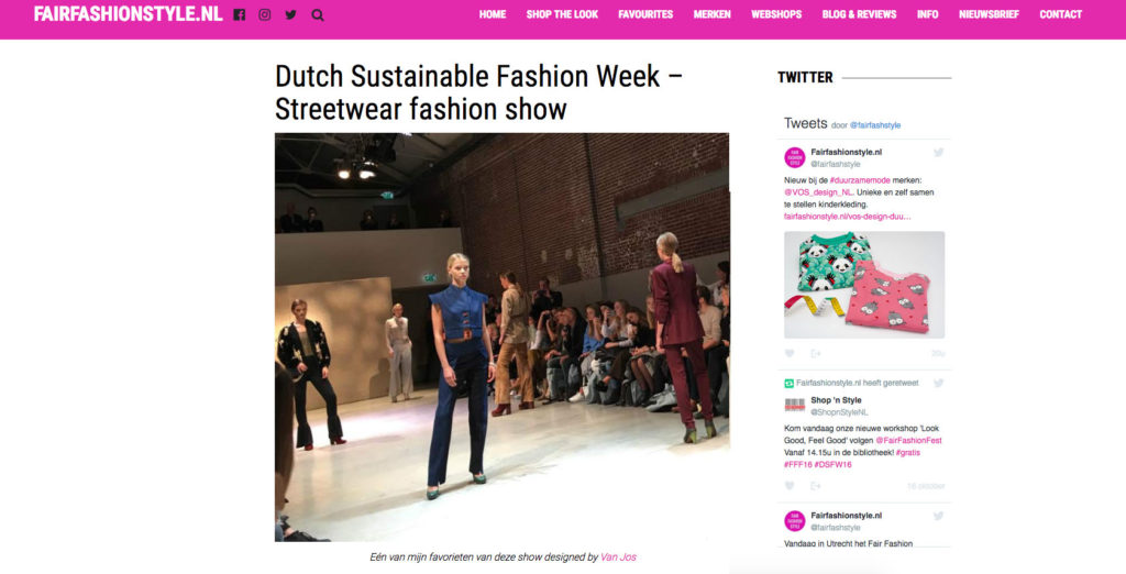 Van Jos on FairFashionStyle