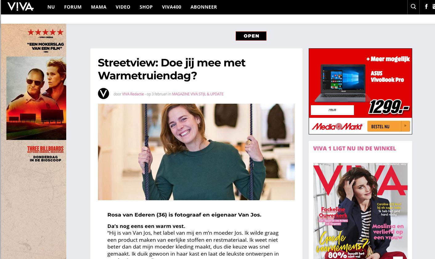 Van Jos on Viva