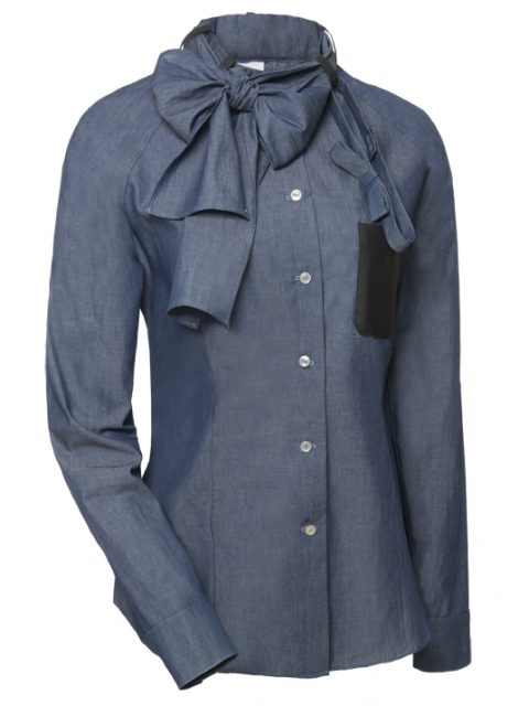 _denim blouse Van Jos