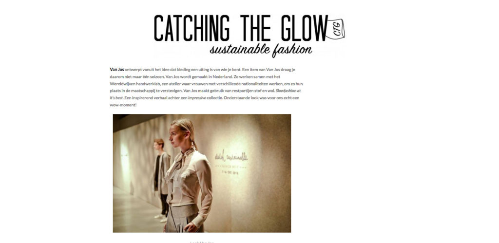 Van Jos on Catching the Glow