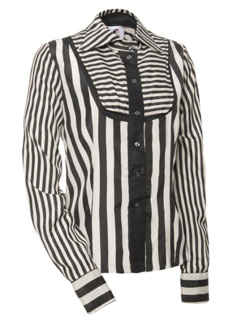 _striped blouse Van Jos