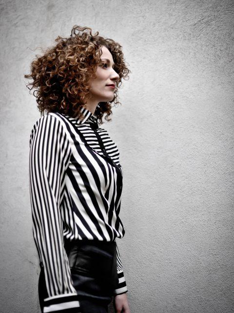_stripe blouse Van Jos